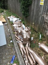 Mannequin parts free to collect