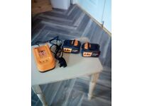 triton T20 ch 4ah batteries and charger