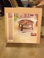 Steel Firepit. New in box.