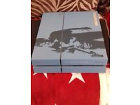 LIMITED EDITION UNCHARTED 4 PS4 1TB, IN MINT CONDITION