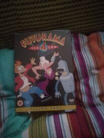 Brand new season four (4) of Futurama