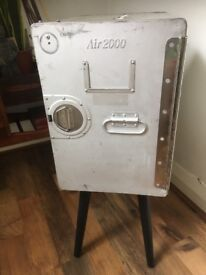 Aircraft cabinet mini sideboard reuse upcycled storage, aluminium, great shabby chic industrial item