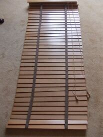 Wooden venetian blinds , 2 sizes