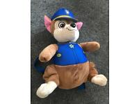 Chase Paw Patrol back pack