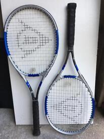 2-X Dunlop comp ti tennis racket