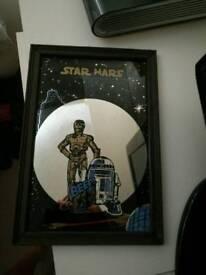 Vintage Star Wars mirror