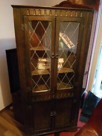 vintage cupboard, cabinet