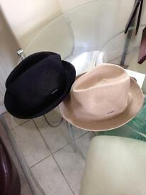 Kangol tropic player hats £5.00 pair - size small