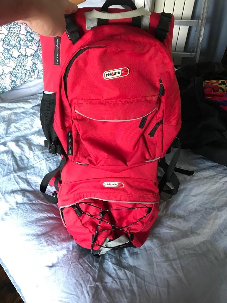 f5329d7d735 Phil   teds escape baby backpack carrier sling