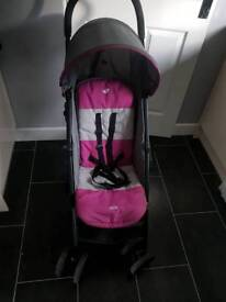 Joie pushchair with rain covers
