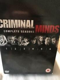Boxset - Criminal Minds - Series 1-6