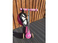 Girls globber scooter