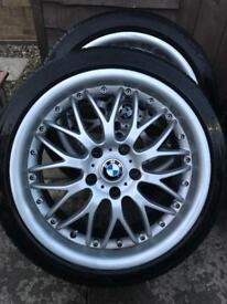 Alloy wheels 18s