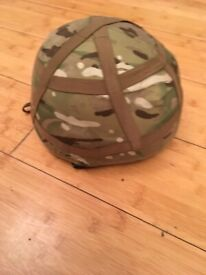 Mk6 Army Helmet with MTP Cover
