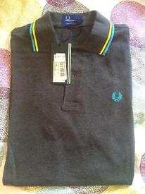 Men's Fred Perry Polo Shirt (Size Medium) - new with tags