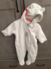 Next snowsuit/Pramsuit 3-6 months