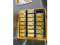 20 Packs of 25 Dewalt Screwdriver Bits Pozidrive PZ2x25mm