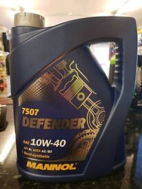 Quality 5 litres 10W-40 oil