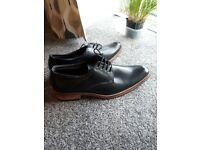 Hand made leather shoes size 7