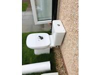 Pan and wash hand basin