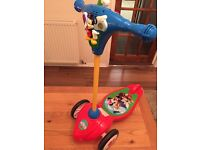 Mickey Mouse toddler scooter