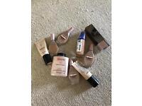 Makeup - foundation and powder