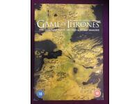 Game of Thrones Season 1-3 £10 ONO
