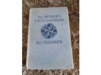 Old encyclopaedia book