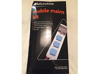 Electric hook up mobile mains kit