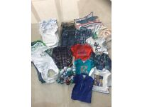 Various Boys Baby Clothes from Ted Baker, Next, Mothercare age 6 - 9 months