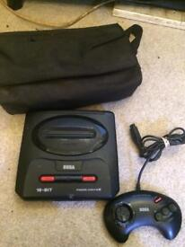 Megadrive 2 and carry case