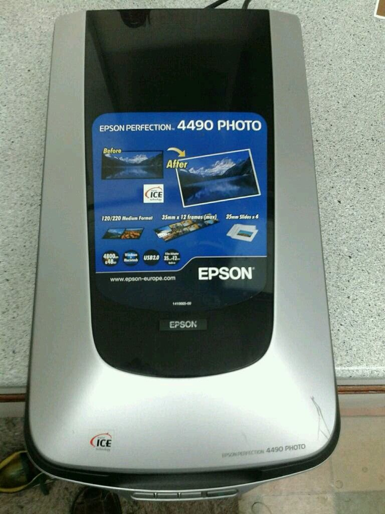 epson perfection 4490 photo scanner drivers