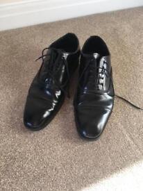Mens Black Shoes - Size 8