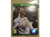 Fifa 18 Xbox game