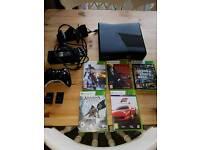 Xbox 360 4gb plus games