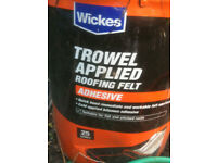 TROWEL APPLIED ROFING FELT ADHESIVE 20L