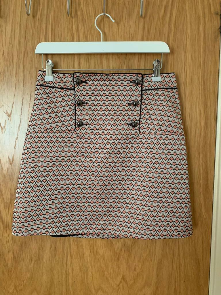 28b97887d8 Oasis Pink and Grey Print Mini Skirt - Size 8 | in Gateshead, Tyne and ...
