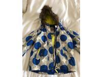 Kids Boden ski jacket and sallopettes