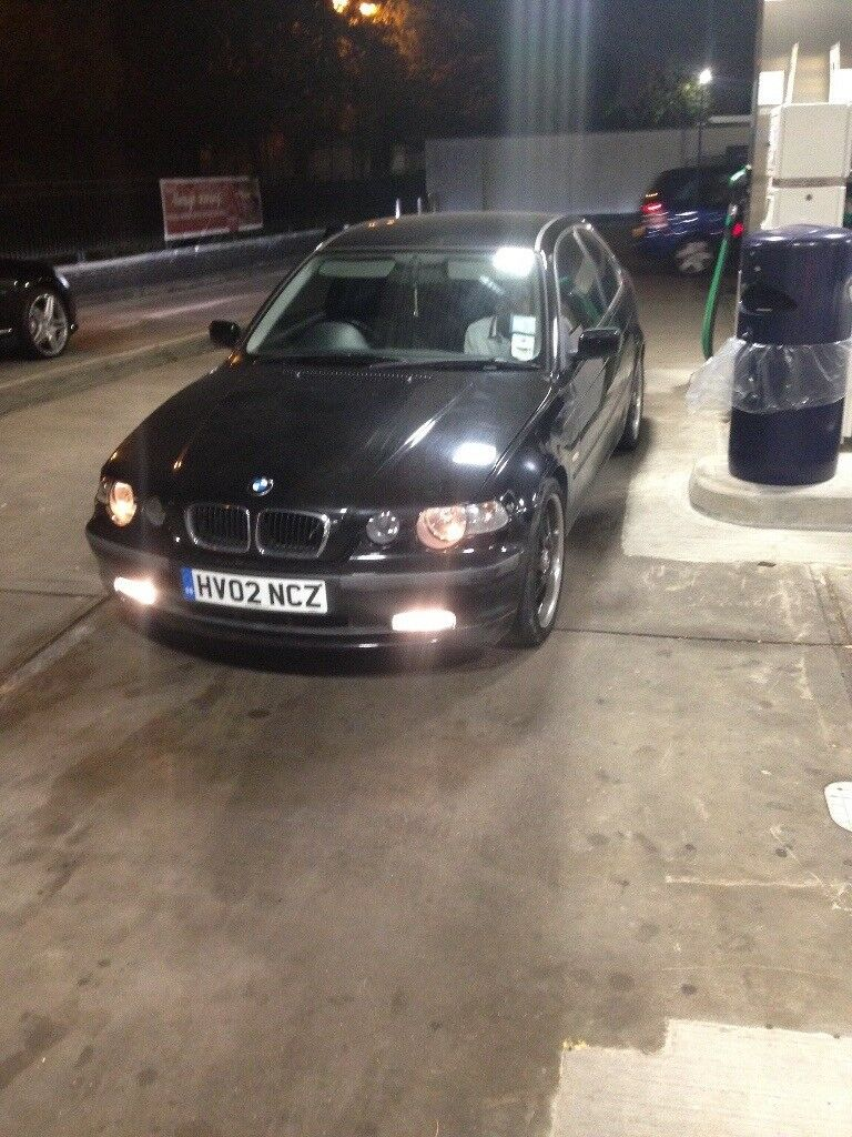 BMW 316ti 5spd manual black 112,000 miles Full Service History £699ono not A3 not 116 not C180 C220
