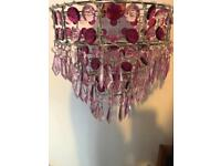 Pink Chandelier for Children