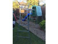 TP Climbing Frame, Den and slide