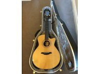 Furch Grand Auditorium acoustic guitar fitted with LR Baggs pickup