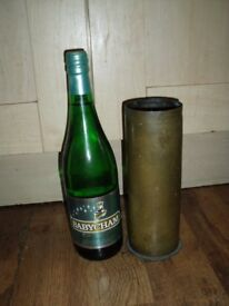 Antique WWII Brass Vase/Artillery Shell H 23 cm