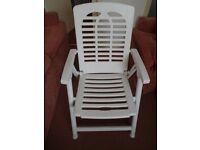 4 Garden Chairs.