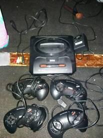 Sega Megadrive 2 bundle