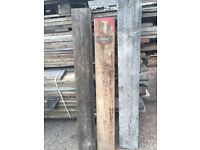 Reclaimed Scaffolding Boards - large quantity in stock!