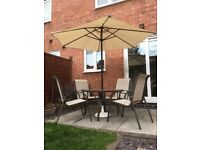 Garden/patio table & chairs