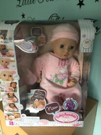 2x brand new baby Annabelle dolly's in boxes