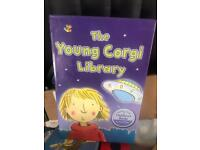 Young corgi library bookset
