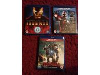 Iron Man Trilogy Blu Ray